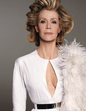First Look: Jane Fonda's Drop Dead Gorgeous W Magazine Cover