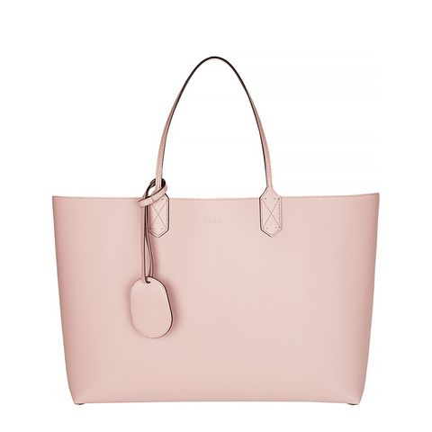 Turnaround Large Reversible Bonded-Leather Tote