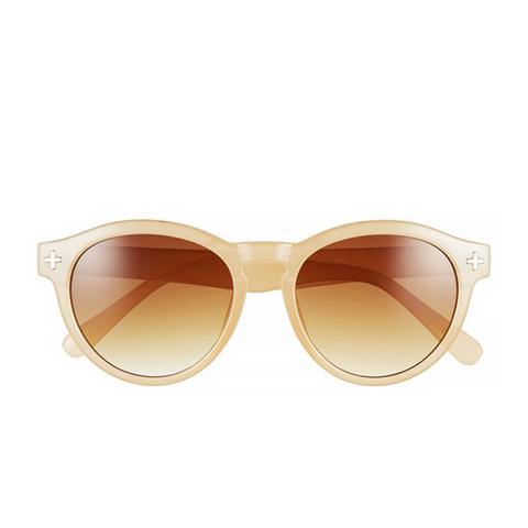 'Heather' Round Sunglasses