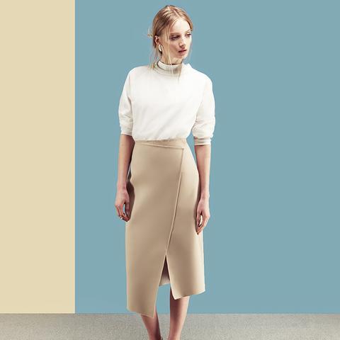 Adderley Wrap Midi Skirt