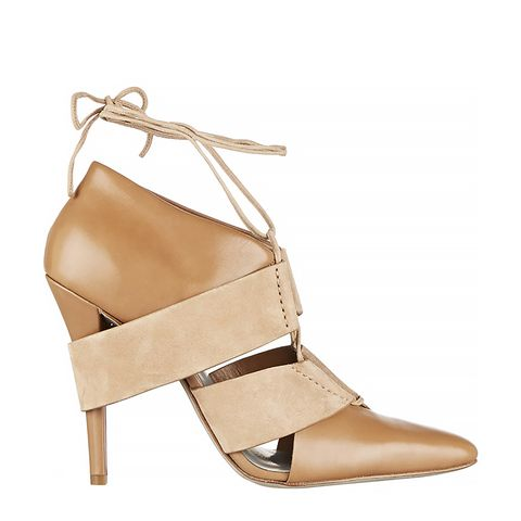 Mila Leather and Suede Pumps