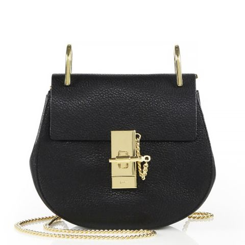 Drew Mini Leather Shoulder Bag