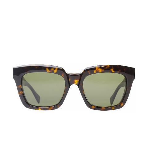 Dark Havana Fashion Sunglasses With Grey Lens