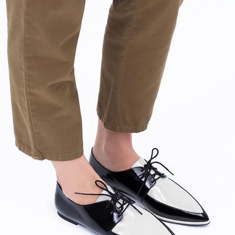 Patent Toe Bluchers