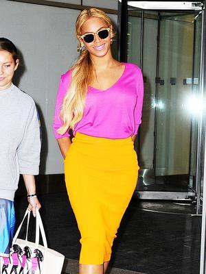 The Color Combo Beyoncé Loves
