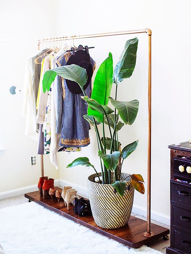 12 Absolutely Beautiful Makeshift Closets Whowhatwear Uk
