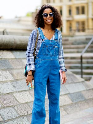 Another Stylish Look That Makes Us Want a Pair of Overalls