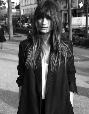 Caroline de Maigret Is The Star Of Equipment's Fall Lookbook