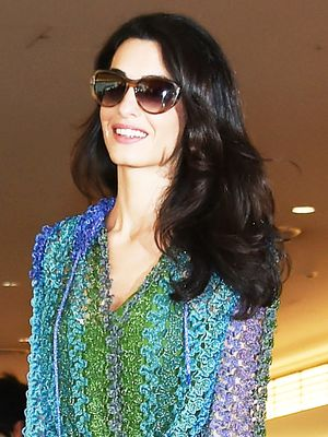 Amal Clooney's Travel Dress Is Exactly What You're Looking For