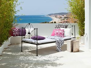 Tour a Bright-White Home Overlooking the Mediterranean
