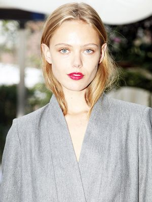 See Top Model Frida Gustavsson's Amazing Wedding Dress