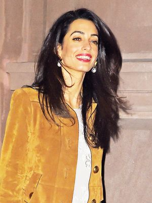 This Is What Amal Clooney Wears Visiting George's Parents