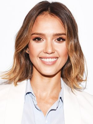 The Versatile Throw-On Piece Jessica Alba Loves