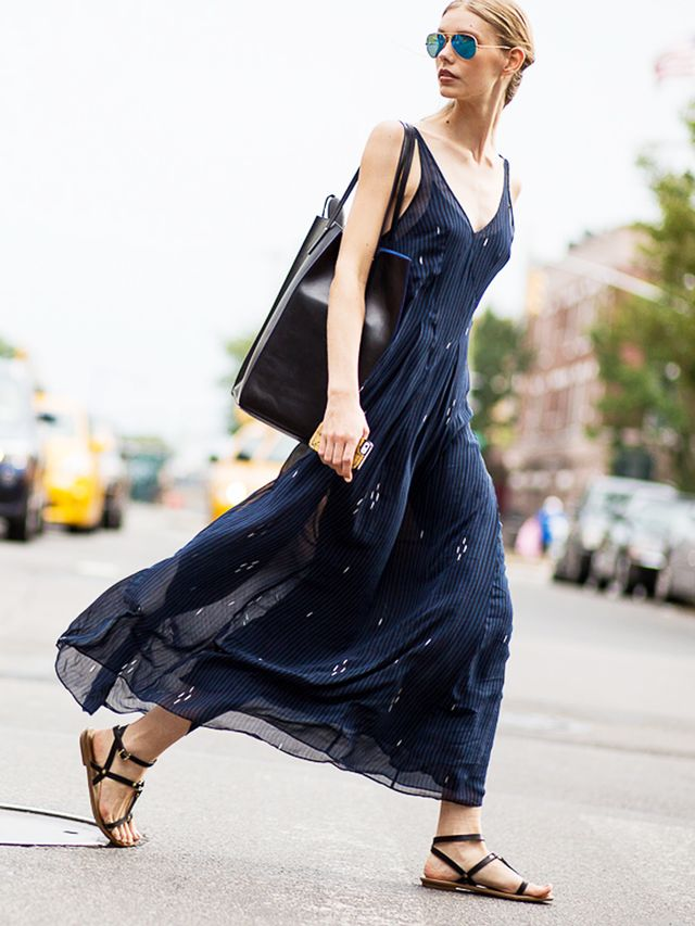 The Right Way to Wear a Maxi Dress (No Flip-Flops Allowed ...