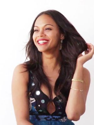 Zoe Saldana on Skin Secrets and Leaving a Legacy