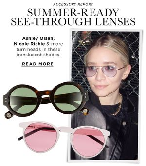 The See-Through Sunglasses You Need This Summer