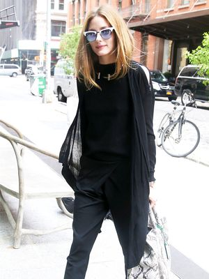 How Our Favorite Celebs Wear All Black in the Summer