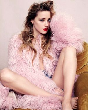 Amber Heard Is Elle Magazine's July Cover Star
