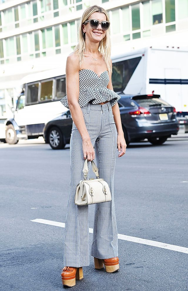 10 Street Style Looks That'll Make You Want to Wear Gingham