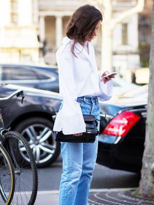 How the Street Style Elite Wears Summer Denim