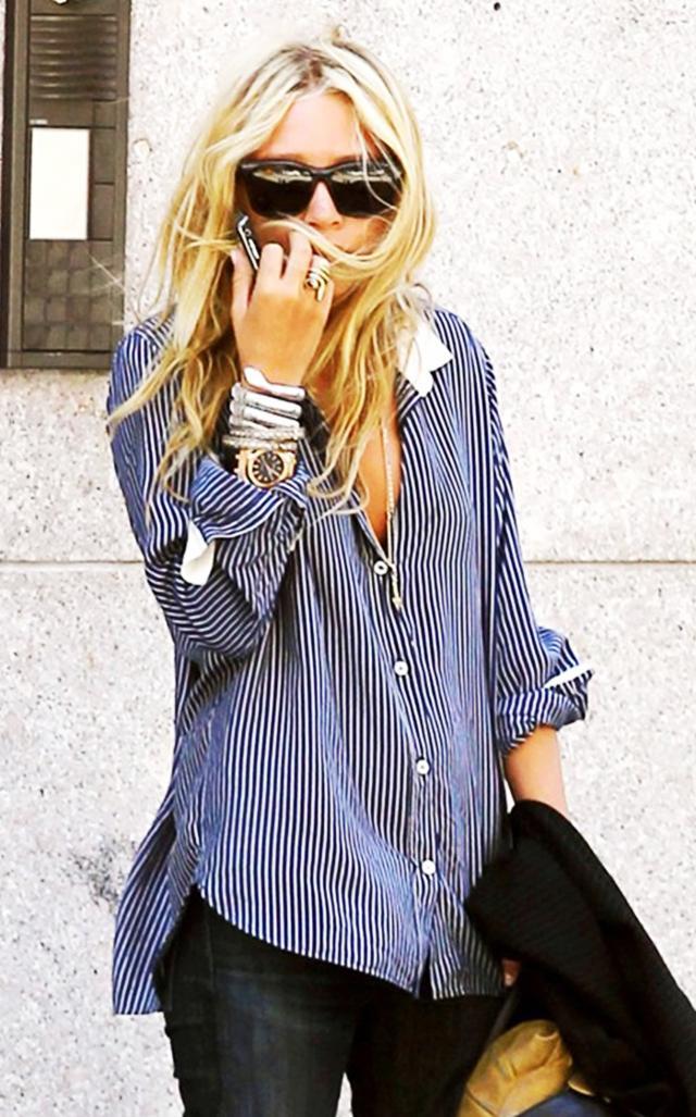 Boyfriend-Style Button-Down Shirts