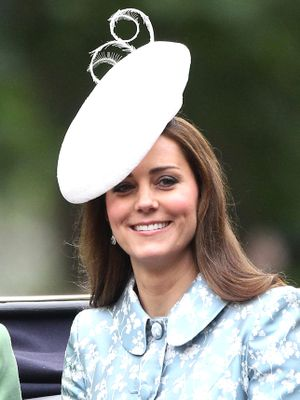 Kate Middleton Looks Gorgeous and Happy for Her Post-Baby Debut