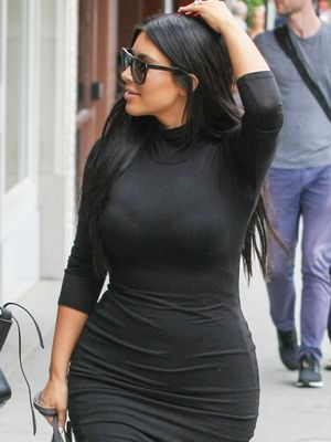 Behold: Kim Kardashian Makes a $44 Dress Look Super-Expensive