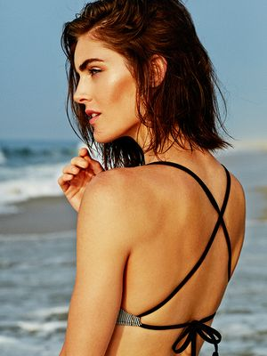 Hilary Rhoda's Swim Collaboration Is Perfect for Your Next Beach Day