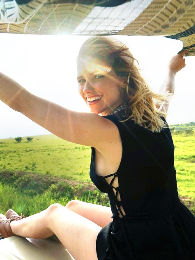 A Peek Inside Sophia Bush S Safari Bound Suitcase