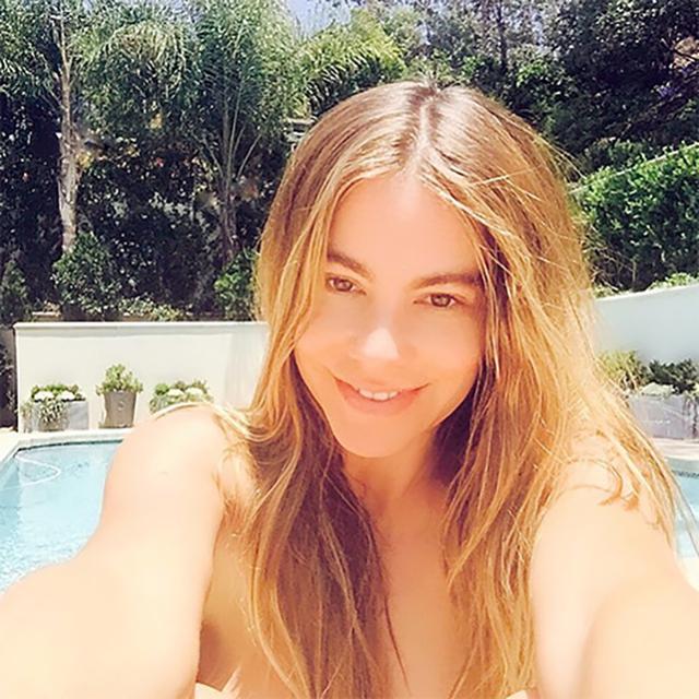 Sofia Vergara Takes a Makeup-Free Selfie, Looks WAY Younger