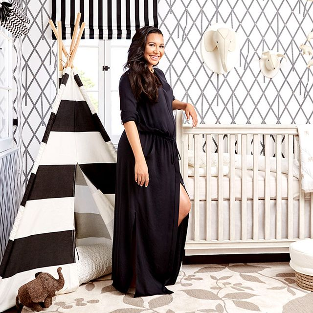 Exclusive: Inside Naya Rivera's Graphic L.A. Nursery