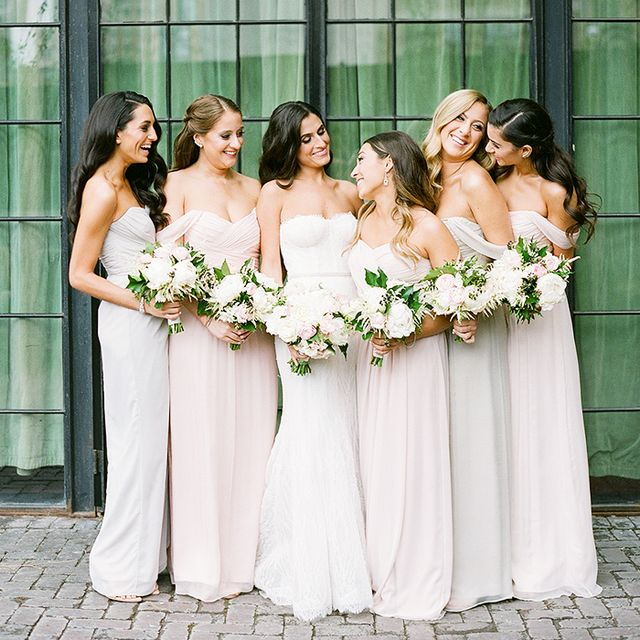 18 bridesmaid gift ideas your friends will be obsessed for Affordable non traditional wedding dresses