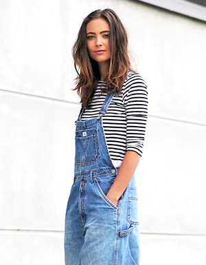 This Blogger Makes A Cool Case For Baggy 90s-Inspired Overalls