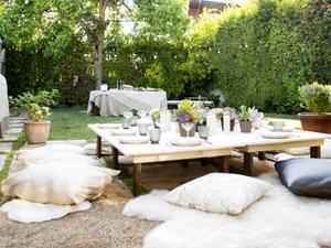 Inside a Boho Backyard Dinner Party