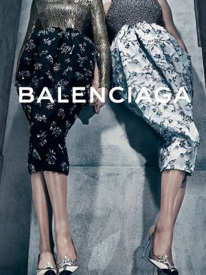 See Which Gorgeous Duo Stars in Balenciaga's Fall Campaign