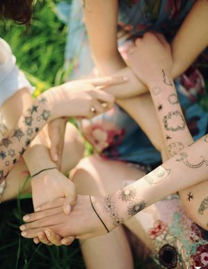 Vogue Japan Makes A Chic Case For Temporary Tattoos