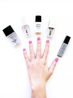 Same Polish, 5 Different Topcoats—See Which One Lasted