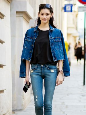 The Model-Off-Duty Way to Wear Denim