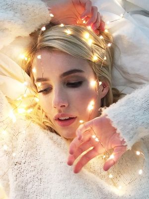 First Look: Emma Roberts Fronts New Aerie Campaign, Unretouched