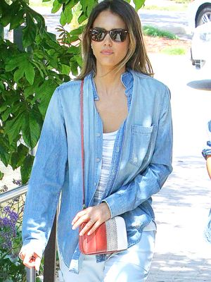 We Love Jessica Alba's Fresh Take on All-Denim