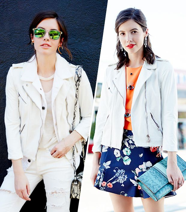 We Test-Drive A White Motorcycle Jacket For Summer