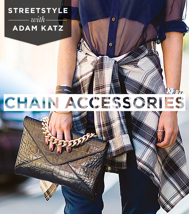 A Street Style Guide To Wearing Chain Accessories