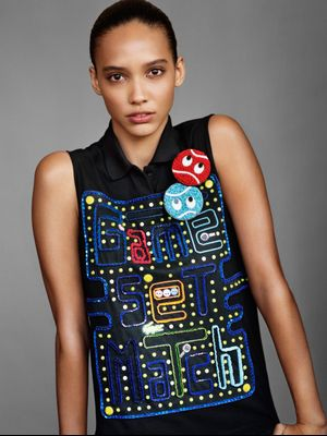 Awesome: Lacoste Did a Couture Collection Inspired by Pac-Man