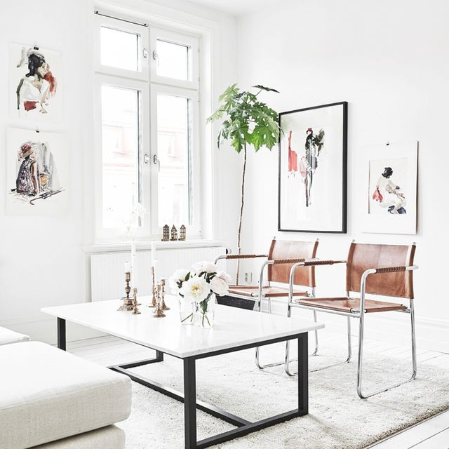 Tour a Minimal Swedish Apartment With Character