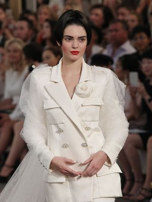 Um, Something Was Noticeably Absent From the Chanel Show