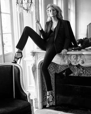 Karolina Kurkova Stars In Giuseppe Zanotti's Sexy F/W 2015 Campaign