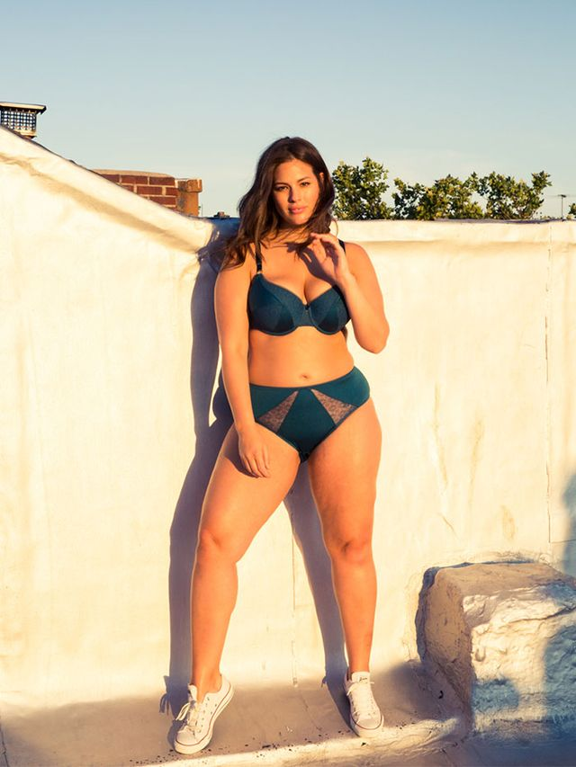 Plus-Size Model Ashley Graham Looks Amazing in Her New ...