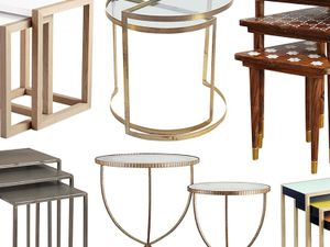 11 Versatile Nesting Tables to Use in Every Room