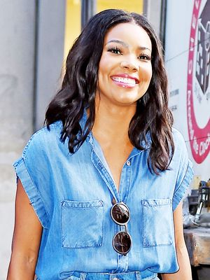 Gabrielle Union Looks Stunning in Denim on Denim