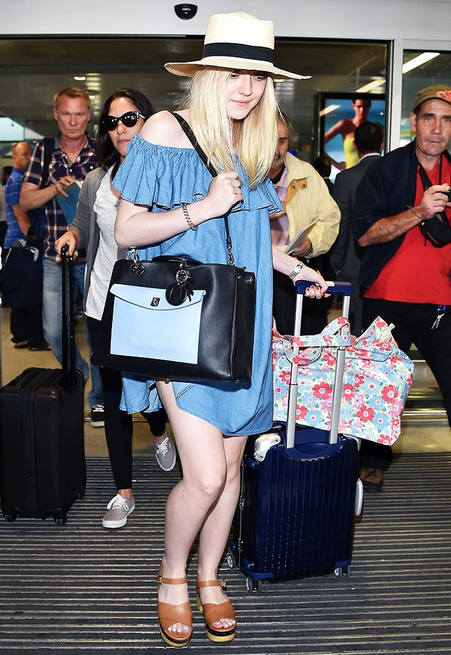 12 Insanely Stylish Celebrity Airport Arrivals